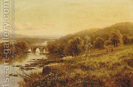 Richmond, Yorkshire by Edward H. Niemann - Reproduction Oil Painting