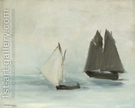 Marine by Edouard Manet - Reproduction Oil Painting