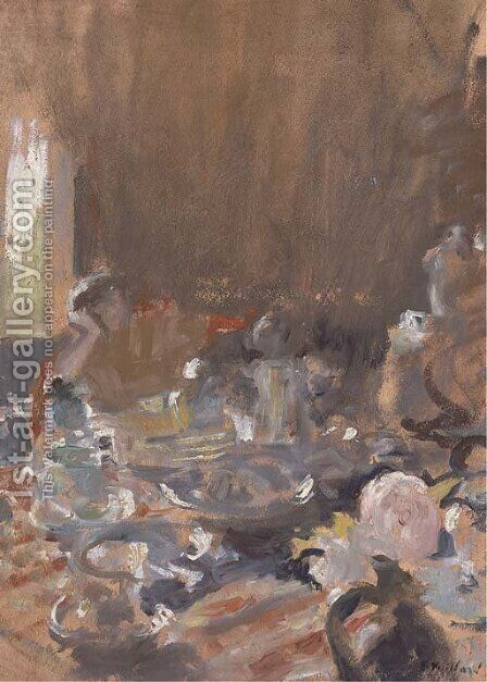 Le Goater by Edouard  (Jean-Edouard) Vuillard - Reproduction Oil Painting