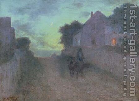 Twilight by Edward Henry Potthast - Reproduction Oil Painting