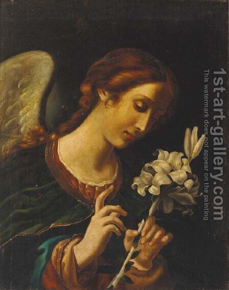 The Angel Gabriel by Carlo Dolci - Reproduction Oil Painting
