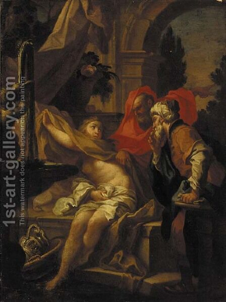 The Raising of Lazarus by (after) Giovanni Francesco Guercino (BARBIERI) - Reproduction Oil Painting
