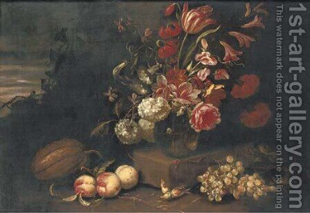 Flowers by (after) Abraham Brueghel - Reproduction Oil Painting