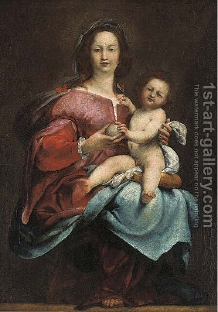 The Virgin and Child by (after) Andrea Del Sarto - Reproduction Oil Painting