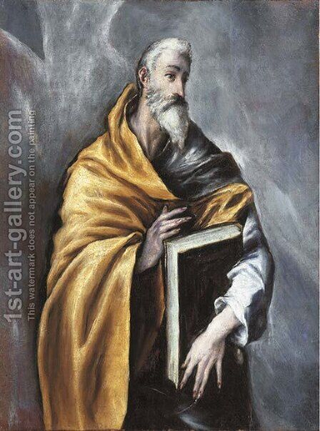 Saint Paul by (after) El Greco (Domenikos Theotokopoulos) - Reproduction Oil Painting