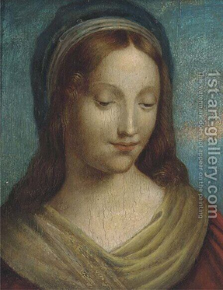Saint Mary Magdalene by (after) Domenico Puligo - Reproduction Oil Painting