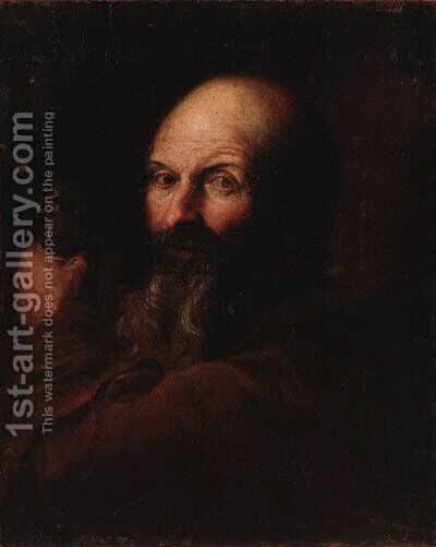 Saint Paul by (after) Domenico Fetti - Reproduction Oil Painting