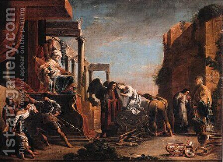 The Sacrifice of Iphigeneia by (after) Domenico Fetti - Reproduction Oil Painting