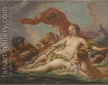 The Birth of Venus by (after) Francois Boucher - Reproduction Oil Painting