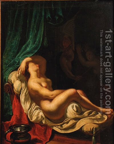 The Rape of Lucretia by (after) Frans Van Mieris - Reproduction Oil Painting