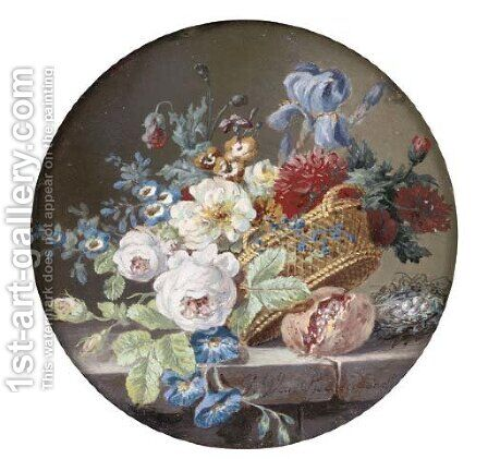 Flowers by (after) Gerard Van Spaendonck - Reproduction Oil Painting