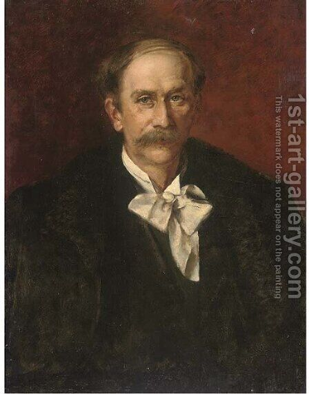 Portrait of the composer Jules Massenet (1842-1912) by (after) Giovanni Boldini - Reproduction Oil Painting