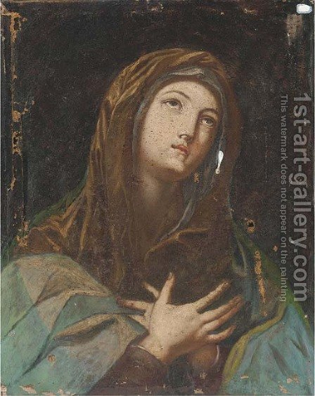 The Mater Dolorosa by (after) Guido Reni - Reproduction Oil Painting