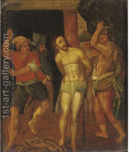 The Flagellation by (after) Hendrik Van Balen, I - Reproduction Oil Painting