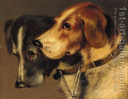 Companions by (after) John Alfred Wheeler - Reproduction Oil Painting