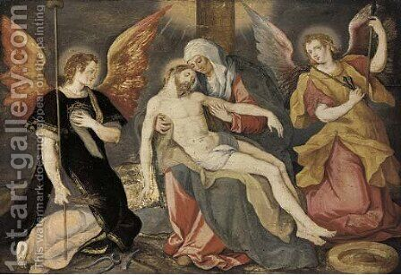 The Lamentation by (after) Jacob De Backer - Reproduction Oil Painting