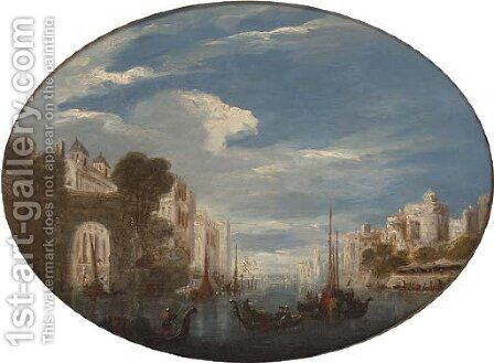 Carthage by (after) Joseph Mallord William Turner - Reproduction Oil Painting