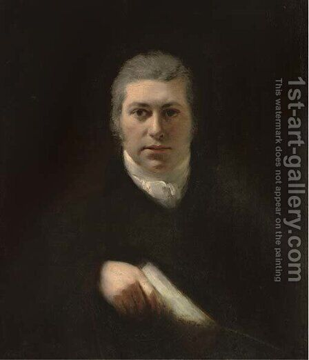 Portrait of a gentleman by (after) Joseph Mallord William Turner - Reproduction Oil Painting