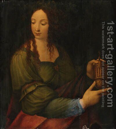 The Magdalen by (after) Leonardo Da Vinci - Reproduction Oil Painting