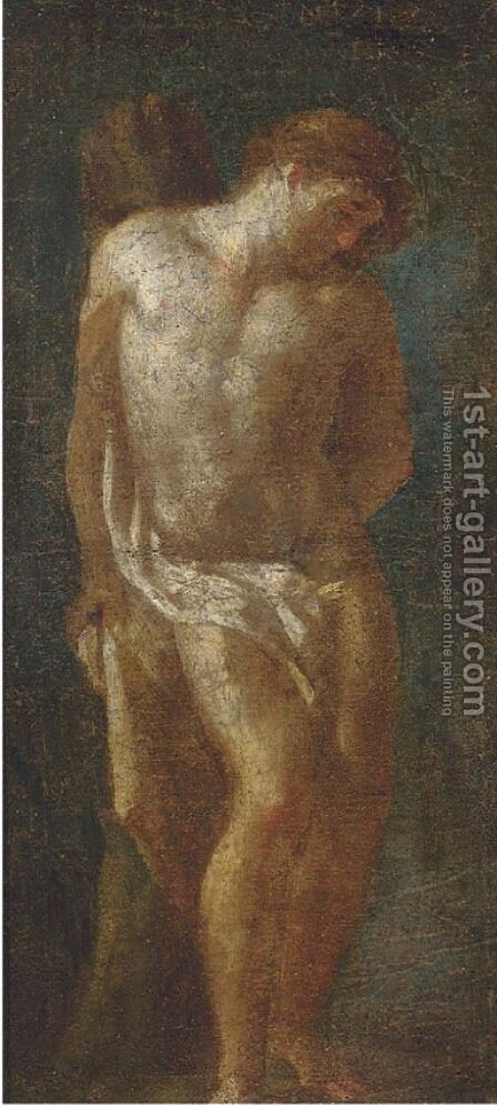 Saint Sebastian by (after) Ludivico Carracci - Reproduction Oil Painting