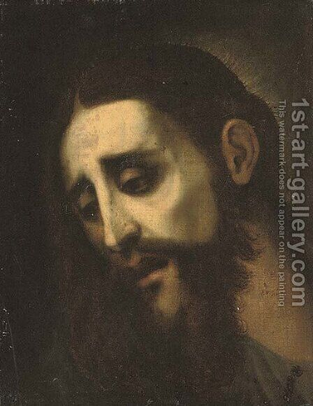 The Head of Christ by (after) Luis De Morales - Reproduction Oil Painting
