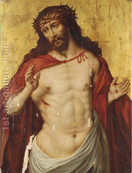 Ecce Homo 2 by (after) Maarten De Vos - Reproduction Oil Painting