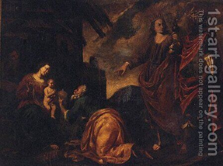 The Adoration of the Magi by (after) Pieter Van Lint - Reproduction Oil Painting