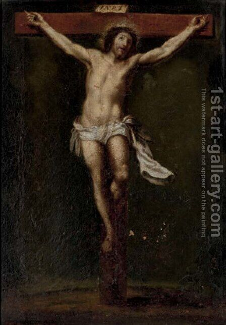 The Crucifixion by (after) Pieter Van Lint - Reproduction Oil Painting
