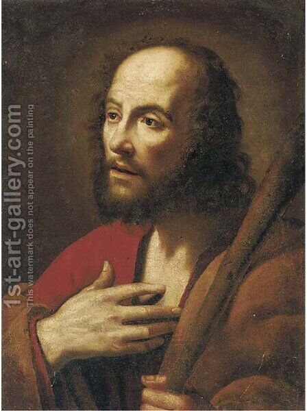Saint Jude by (after) Pietro Antonio Novelli - Reproduction Oil Painting