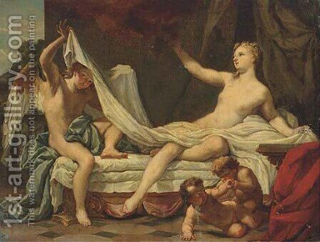 Danae and Cupid by (after) Sebastiano Ricci - Reproduction Oil Painting