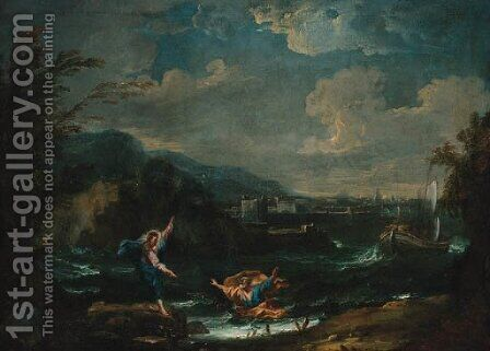 The Calling of Saint Peter by (after) Sebastiano Ricci - Reproduction Oil Painting