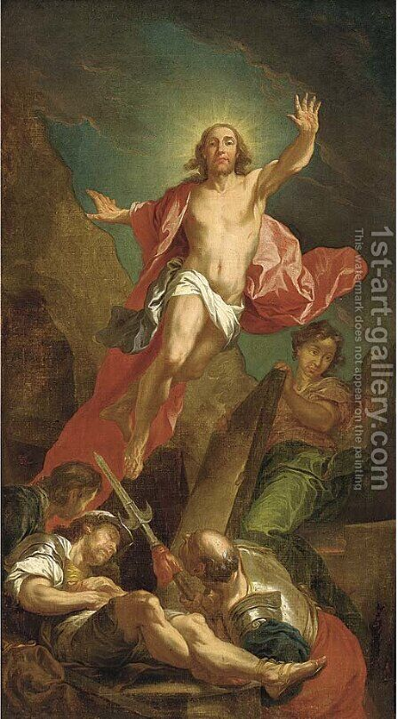 The Resurrection by (after) Sebastiano Ricci - Reproduction Oil Painting