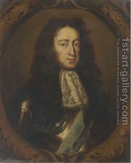 Portrait of William III (1650-1702) by (after) Sir Peter Lely - Reproduction Oil Painting