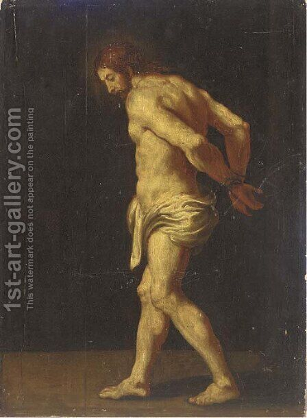 Christ 2 by (after) Sir Peter Paul Rubens - Reproduction Oil Painting