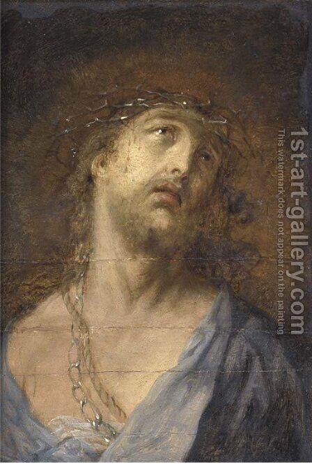 Christ Crowned with Thorns by (after) Sir Peter Paul Rubens - Reproduction Oil Painting