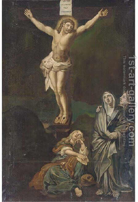 The Crucifixion 4 by (after) Sir Peter Paul Rubens - Reproduction Oil Painting