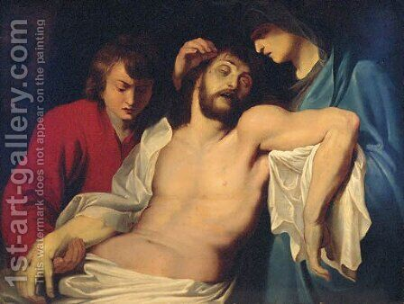 The Lamentation by (after) Sir Peter Paul Rubens - Reproduction Oil Painting