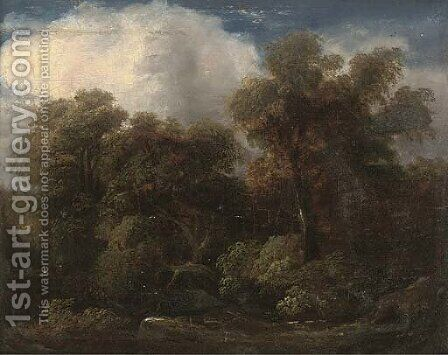 A glade by (after) Gainsborough, Thomas - Reproduction Oil Painting