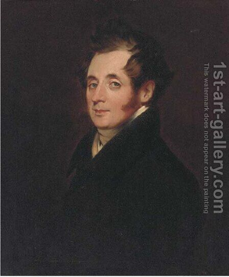 Portrait of Mr. MacDonald by (after) William Owen - Reproduction Oil Painting