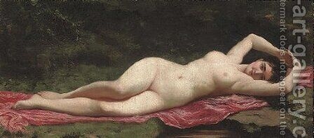 Venus by (after) Laguillermie, Frederic Auguste - Reproduction Oil Painting