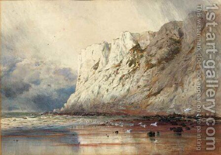 Beachy Head by Arthur Glennie - Reproduction Oil Painting