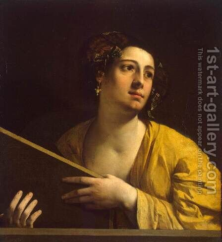 Sibyl 1516-20 by Dosso Dossi (Giovanni di Niccolo Luteri) - Reproduction Oil Painting