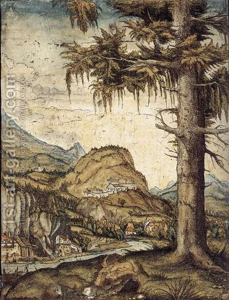 Large Fir 1512 by Albrecht Altdorfer - Reproduction Oil Painting