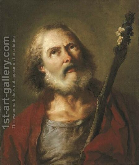 Saint Joseph by Giovanni Battista Tiepolo - Reproduction Oil Painting