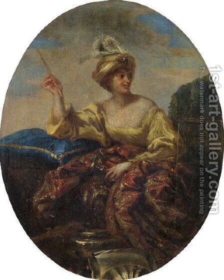 Circe 2 by Giovanni Benedetto Castiglione - Reproduction Oil Painting