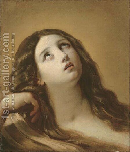 The Penitent Magdalen by Guido Reni - Reproduction Oil Painting