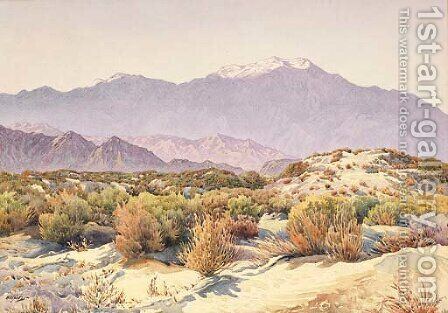 San Jacinto by Gunnar Mauritz Widforss - Reproduction Oil Painting