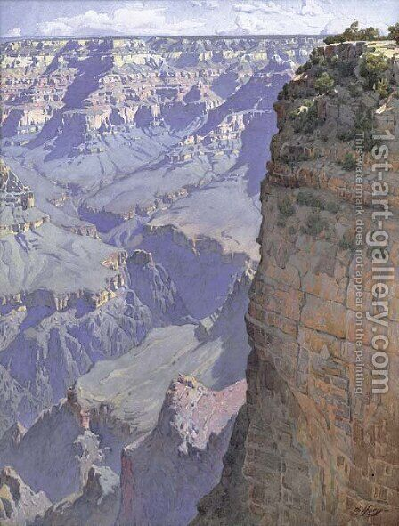 The Grand Canyon of Arizona by Gunnar Mauritz Widforss - Reproduction Oil Painting