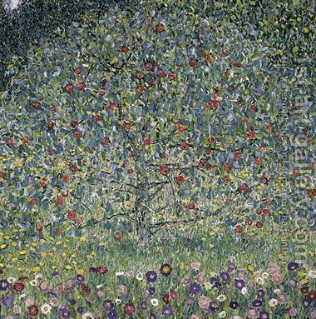 Apple Tree I 2 by Gustav Klimt - Reproduction Oil Painting