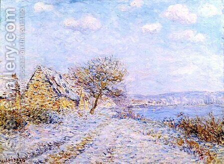 Bord de Seine by Gustave Loiseau - Reproduction Oil Painting
